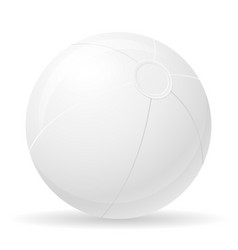 beach ball childrens toy stock vector image vector image