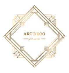 Gatsby art deco background vector