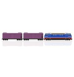 Railway train 20 vector