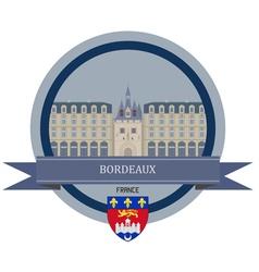 Bordeaux vector image