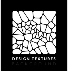 Abstact voronoi design background vector image vector image