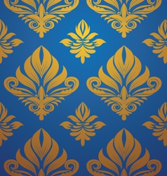Gold-blue-pattern vector