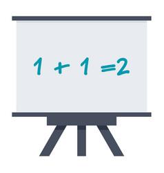 Mathematics icon vector