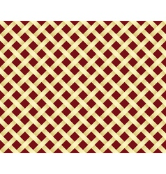 golden grating pattern vector image