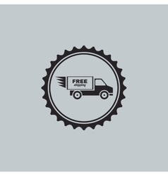 Fast delivery label vector