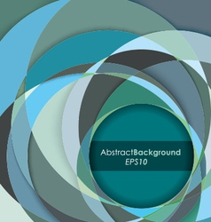 Teal fractal abstract background vector
