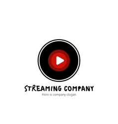 Streaming company logo vector