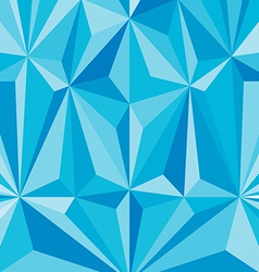 Faceted effects blue background pattern of the vector
