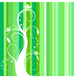 floral background illustration in vector vector image vector image