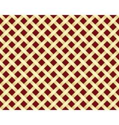 golden grating pattern vector image