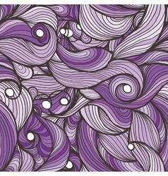 Ink doodle waves vector image vector image