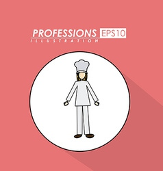 Profession desing vector image vector image