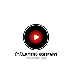 Streaming company logo vector