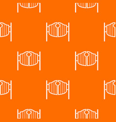 vintage western swinging saloon doors pattern vector image vector image