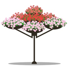 Floral arrangement vector
