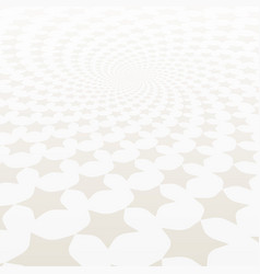 Twisted stars spiral white and grey abstract back vector