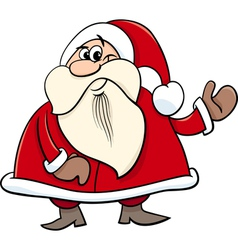 Santa claus cartoon vector