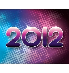 2012 halftone background vector
