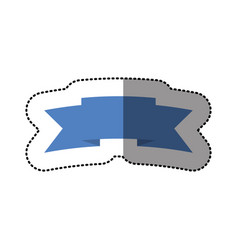 color symbol ribbon icon vector image vector image