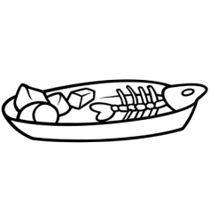 leftovers vector image