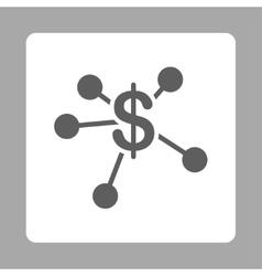 Money emission icon vector