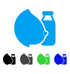 mother milk icon vector image