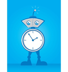 Reminder Robot vector image vector image