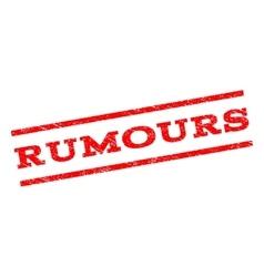 Rumours watermark stamp vector