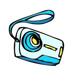 A digital camera vector