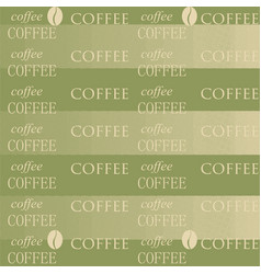 Coffee wallpaper green vector