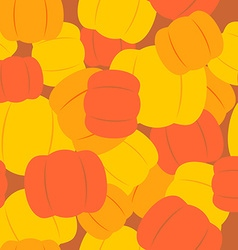 Military texture from pumpkins Army background vector image vector image
