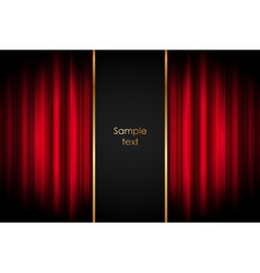 Stage - background vector image vector image