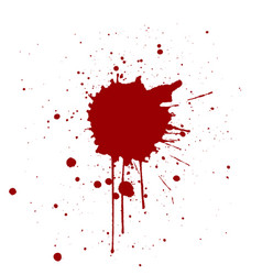 Grunge background with red color splatter vector