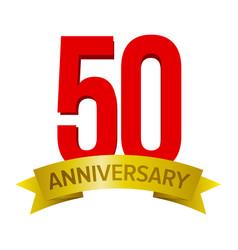 50 anniversary label vector