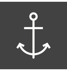 Anchor ship vector