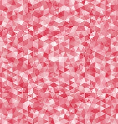 Geometric disorder of the red triangles pattern vector