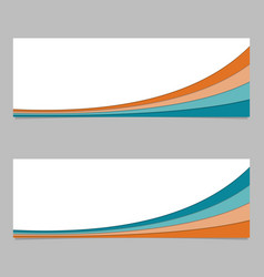 Banner template from layer stripes - graphic with vector
