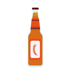 bottle of beer icon image vector image