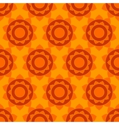 Ethnic native indian geometric seamless pattern vector image vector image