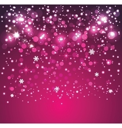 Glitter particles background effect for greeting vector