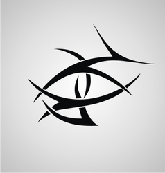 Tribal eyes vector