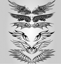 Wing set vector