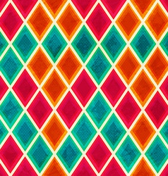 Colored mosaic seamless pattern vector