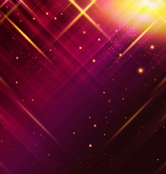 Abstract striped background with light effects vector image