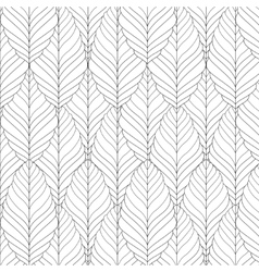 decorative ornamental seamless spring vector image