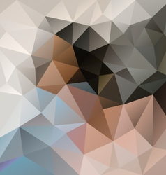 Light beige blue gray polygon triangular pattern vector