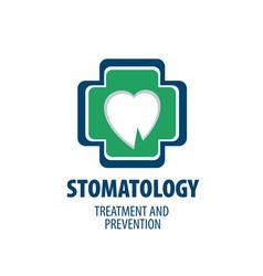 Logo dentistry vector