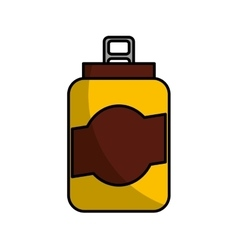 can beverage isolated icon vector image