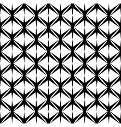 Black and white seamless pattern modern stylish vector image