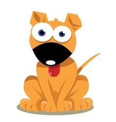 Cute doggie vector